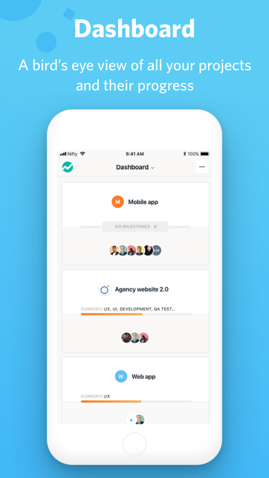 messages.download Nifty: Manage Projects & Tasks software
