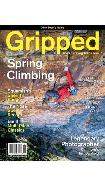 Gripped Climbing Magazine screenshot-0