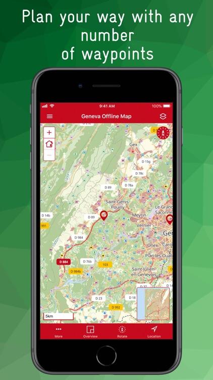 Geneva Offline Map screenshot-8