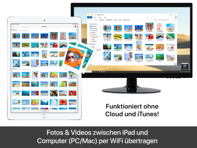 PhotoSync - Fotos übertragen Screenshot