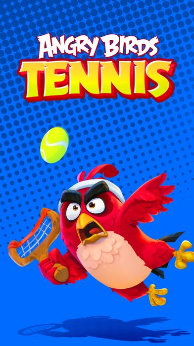 Angry Birds Tennis screenshot 1