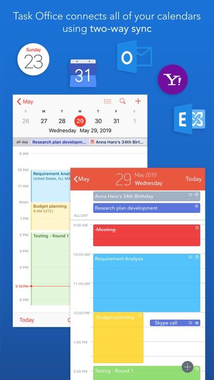 Task Office: to-do, calendar screenshot-0