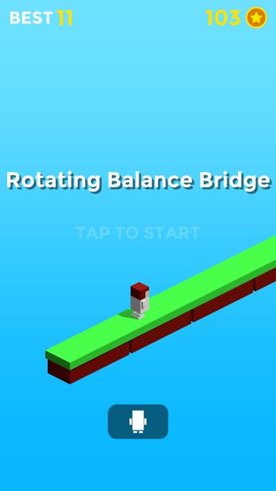 Rotating balance bridge