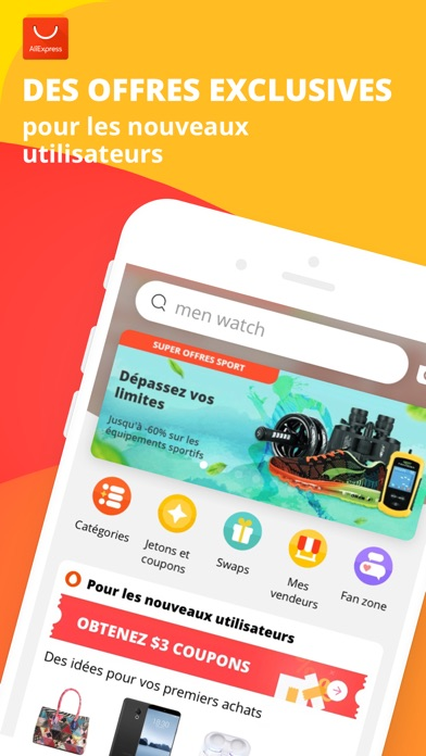 Screenshot for AliExpress Shopping App in France App Store