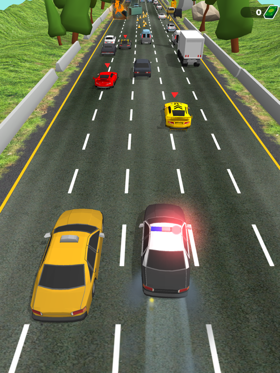 Police Chase - Hot Highways screenshot 14