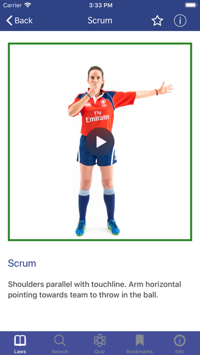 Screenshot for World Rugby Laws of Rugby in Estonia App Store