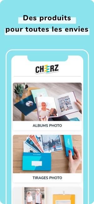Remarquable CHEERZ - Impression photo dans l'App Store VR-16