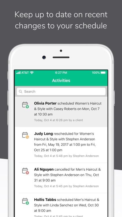 Schedulista Online Scheduling screenshot-5