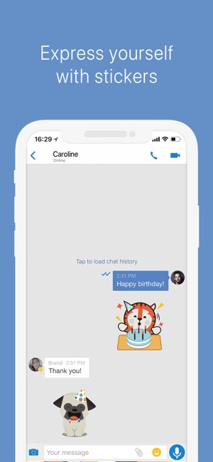 imo video calls and chat on the App Store