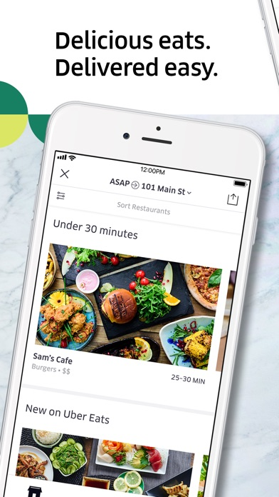 Screenshot for Uber Eats: Food Delivery in Australia App Store