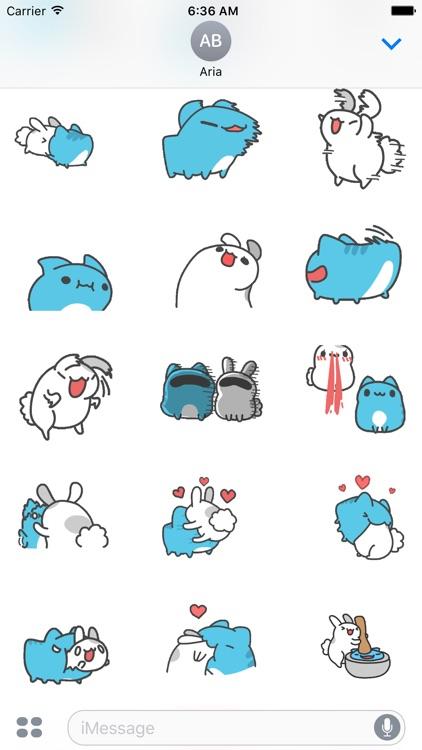 Animated Capoo & Tutu Sticker screenshot-3
