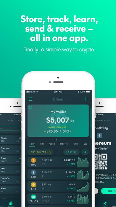 Ethos - Universal Wallet screenshot two