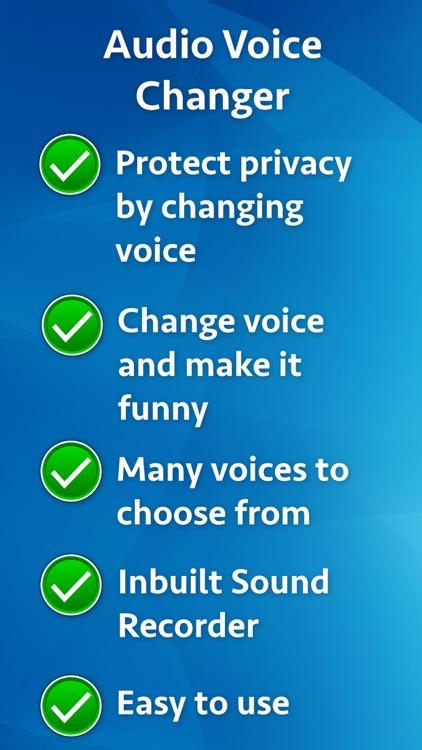 Audio Voice Changer screenshot-9