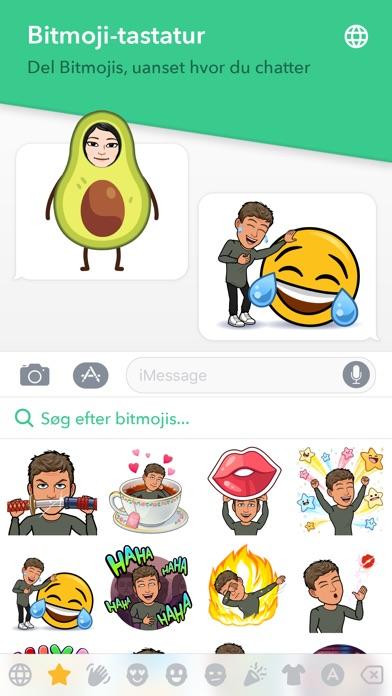 Screenshot for Bitmoji in Denmark App Store