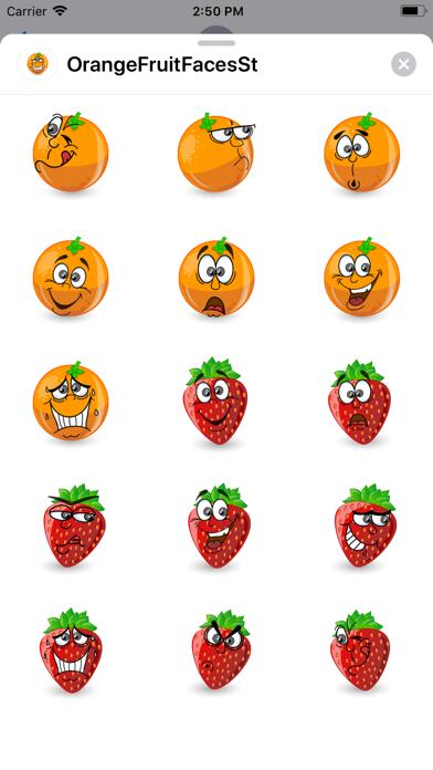 OrangeFruitFacesSt screenshot 2
