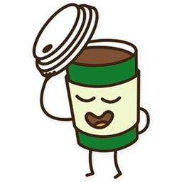 Coffee emoji - Say it Fun mess