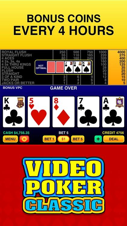 Video Poker Classic ™ screenshot-3