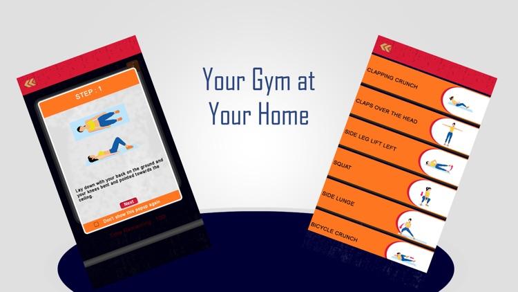 Women Fitness Workout at Home screenshot-5