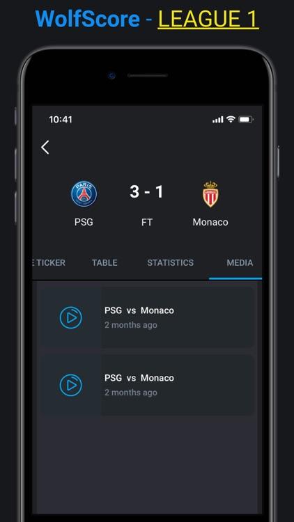 WolfScore -Live Football Score screenshot-8
