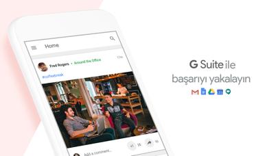 Screenshot for G Suite için Google+ in Turkey App Store