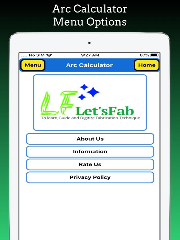 Arc Calculator Pro screenshot 16