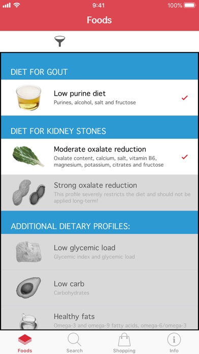 Oox – Gout and Kidney Stones screenshot two