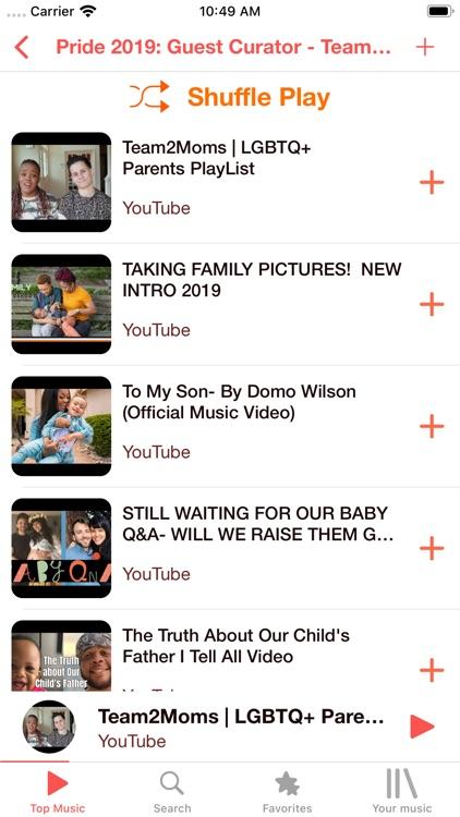 Musi Tube - Music Video Player screenshot-5