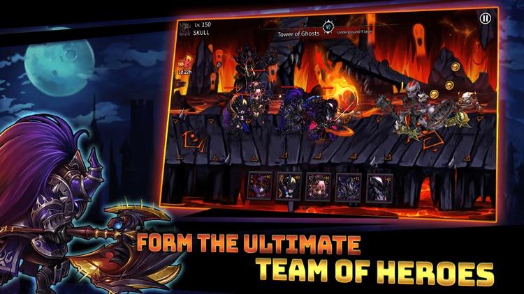 Skull Arena : Idle Hero RPG screenshot-4
