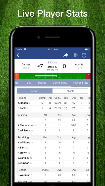 Scores App: NFL Football 2019 screenshot-4