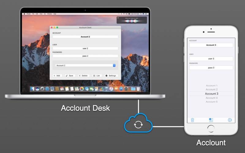 Acclount Desk for Mac