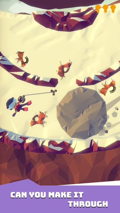 Screenshot for Hang Line: Mountain Climber in United States App Store