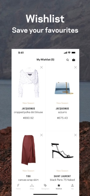 c0cbad8e  Farfetch: New Fashion Shopping on the App Store