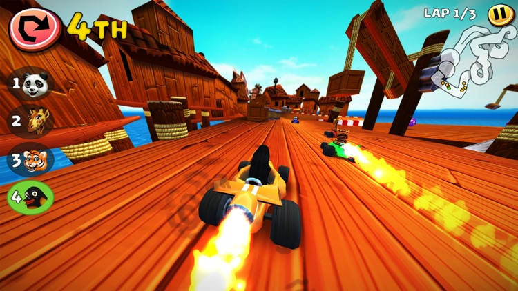 Safari Kart screenshot-4