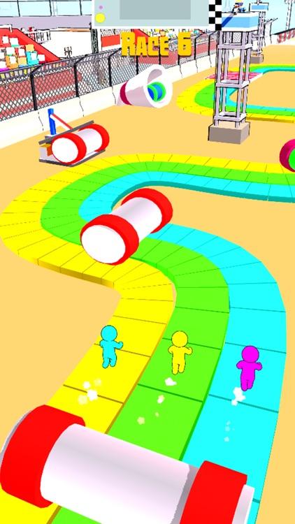 Stickman Race 3D screenshot-7