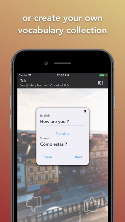 Learn Spanish - Flashcards screenshot-3