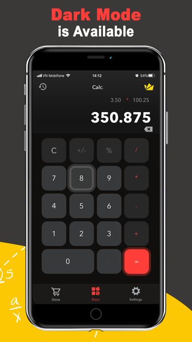 Calc Watch:Calculator on Watch screenshot 4