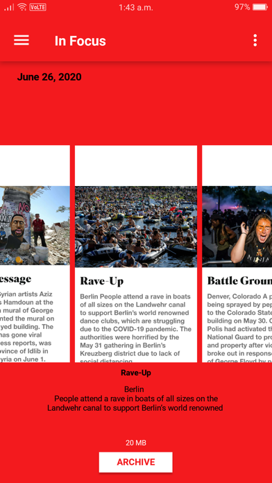 Newsweek review screenshots