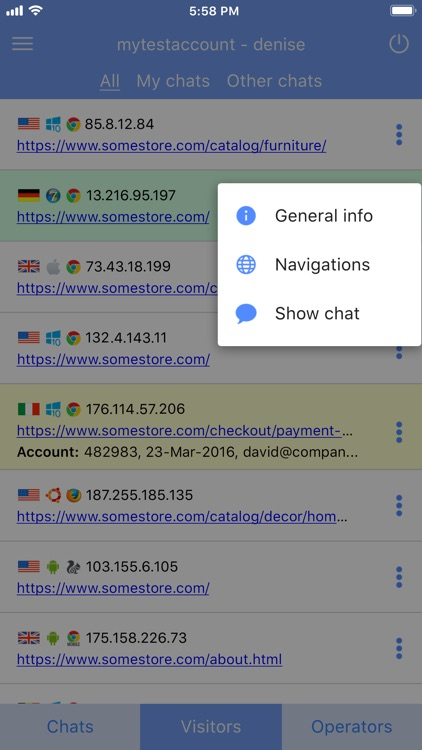 Provide Support Live Chat screenshot-7