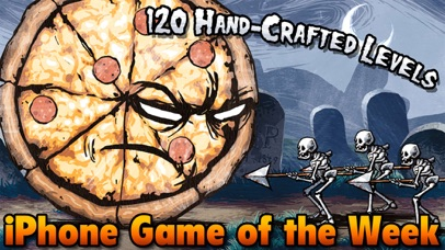 Pizza vs. Skeletons - Playond screenshot 1