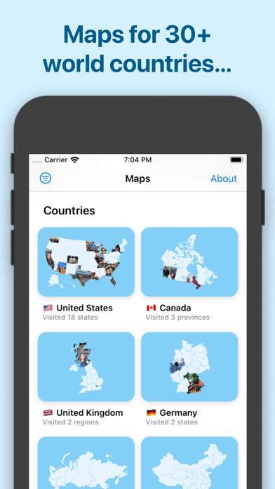 Photo Map — Travel Trackerのおすすめ画像5