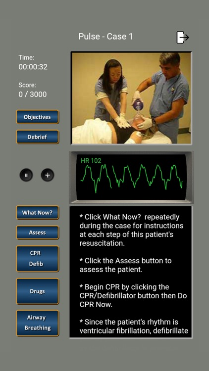 ECG Rhythms and ACLS Cases screenshot-5
