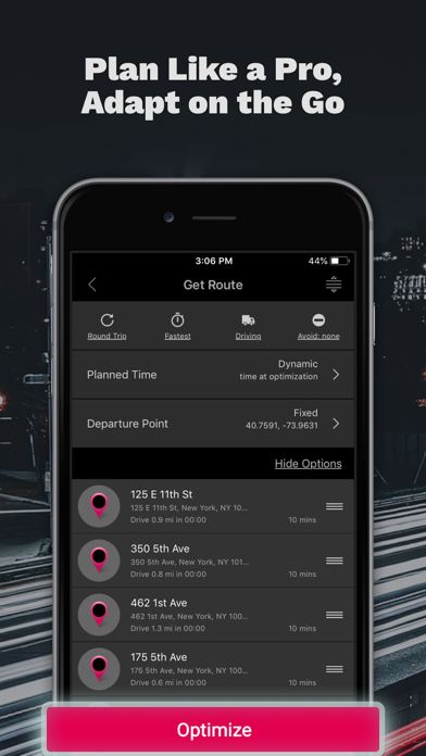 Screenshot for RoadWarrior Route Planner in United States App Store