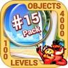 Pack 15 -10 in 1 Hidden Object