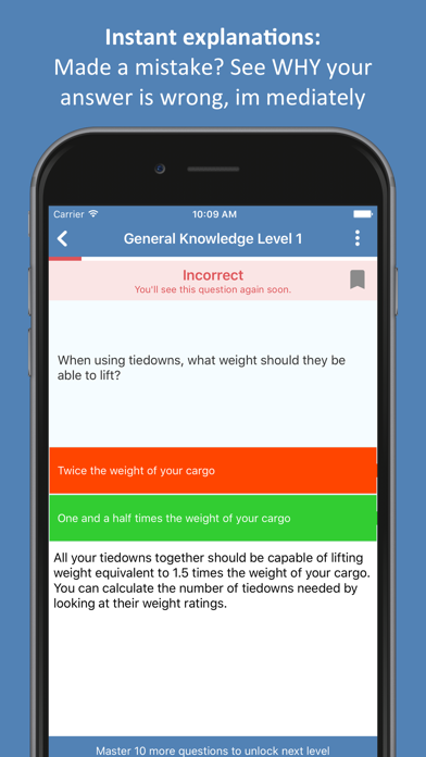 Screenshot for CDL Practice Test 2019 in United States App Store