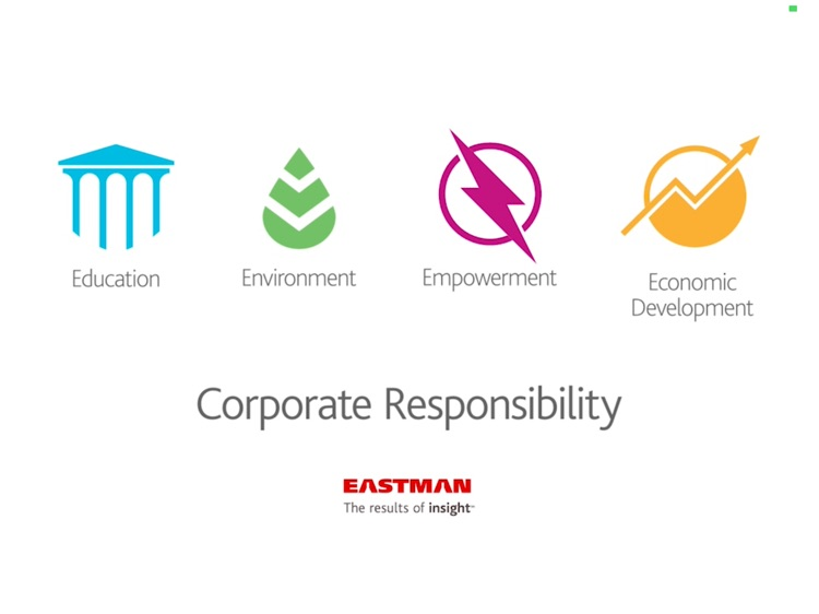 Eastman Good for Good by Eastman Chemical Company