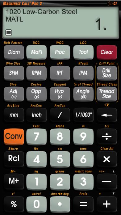 Machinist Calc Pro 2 screenshot three