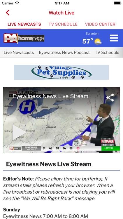 EYEWITNESS NEWS WBRE, WYOU screenshot-3