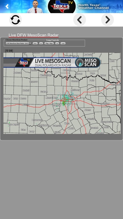 Texas Weather Tracker TV screenshot-3