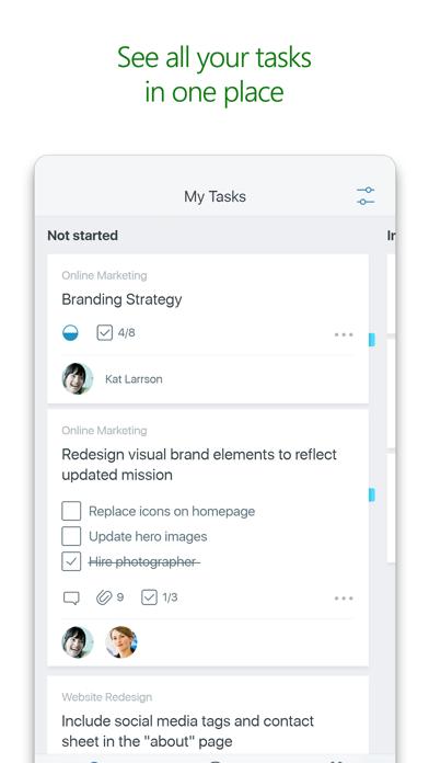 Microsoft Planner screenshot 2