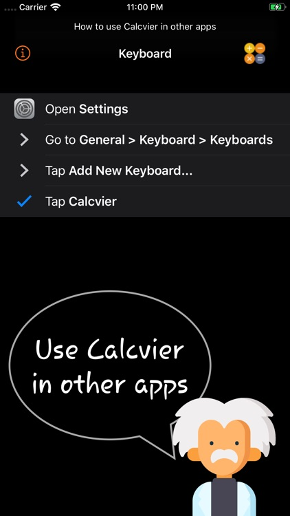 Calcvier - Keyboard Calculator screenshot-1